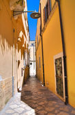 Alleyway. Brindisi. Puglia. Italy. — Stock Photo