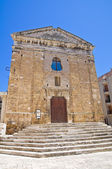 Church of St. Paolo. Brindisi. Puglia. Italy. — Stock Photo
