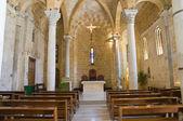 Church of St. Benedetto. Brindisi. Puglia. Italy. — Stock Photo