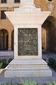 Column of Virgin. Brindisi. Puglia. Italy. — Stock Photo