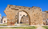 Archeological area of Brindisi.Puglia. Italy. — Stock Photo