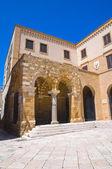 Portico dei Templari. Brindisi. Puglia. Italy. — Stock Photo