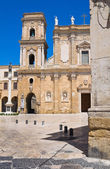 Catedral basílica de brindisi. puglia. itália. — Foto Stock