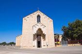 Church of st maria del casale. brindisi. puglia. i̇talya. — Stok fotoğraf
