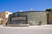 Imperial fountain. Brindisi. Puglia. Italy. — Stock Photo