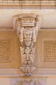 Historical palace. Brindisi. Puglia. Italy. — Stock Photo