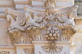 Basilica Church of St. Giovanni Battista. Lecce. Puglia. Italy. — Stock Photo