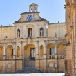 Episcopal palace. Lecce. Puglia. Italy. — Stock Photo