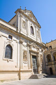 Duomo Church. Lecce. Puglia. Italy. — Stock Photo