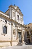 église du dôme. lecce. puglia. italie. — Photo