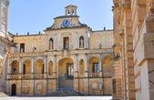 Episcopal palace. Lecce. Puglia. Italy. — Stock Photo