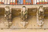 Carrozzo Palace. Lecce. Puglia. Italy. — Stock Photo