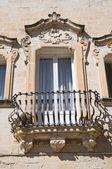 Maresca Palace. Lecce. Puglia. Italy. — Stock Photo