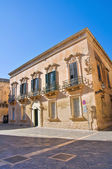 Palmieri Palace. Lecce. Puglia. Italy. — Stok fotoğraf