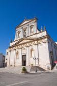 Iglesia de san rocco. ceglie messapica. puglia. italia. — Foto de Stock