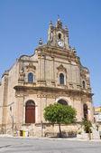 Church of Spirito Santo. Francavilla Fontana. Puglia. Italy. — Stock Photo