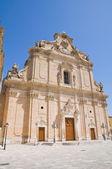 Basilica of SS. Rosario. Francavilla Fontana. Puglia. Italy. — Stock Photo