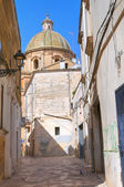Alleyway. Francavilla Fontana. Puglia. Italy. — Stock Photo