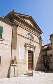 Iglesia de san salvatore. francavilla fontana. puglia. italia. — Foto de Stock