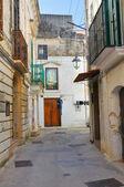 Alleyway. Castellaneta. Puglia. Italy. — Stock Photo