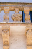 Balsamo palace. Specchia. Puglia. Italy. — Stock Photo