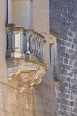 Palácio de ripa. specchia. puglia. itália. — Fotografia Stock