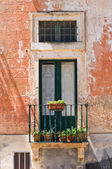 Teotini palace. Specchia. Puglia. Italy. — Stock Photo
