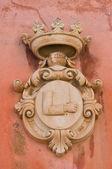 Historical palace. Presicce. Puglia. Italy. — Stock Photo