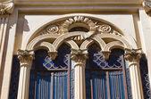 阿尔伯蒂宫。presicce。普利亚大区。意大利. — 图库照片