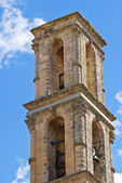Mother Church of St. Andrea. Presicce. Puglia. Italy. — Stock Photo