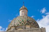 Madre chiesa della trasfigurazione. taurisano. puglia. italia. — Foto Stock