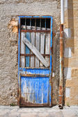 Rusty door. Brindisi. Puglia. Italy. — Stock Photo