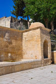 Tancredi fountain. Brindisi. Puglia. Italy. — Stock Photo