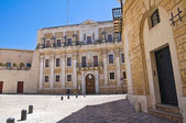 Seminary palace. Brindisi. Puglia. Italy. — Stock Photo