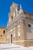 Church of St. Teresa. Brindisi. Puglia. Italy. — Stock Photo
