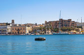 Panoramic view of Brindisi. Puglia. Southern Italy. — Stock Photo