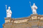кафедральный собор города бриндизи. апулия. италия. — Стоковое фото