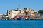 Vue panoramique de brindisi. puglia. italie. — Photo