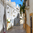 Alleyway. Mottola. Puglia. Italy. — Stock Photo