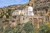 Panoramic view of Tursi. Basilicata. Italy. — Stock Photo
