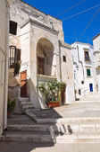 Alleyway. Castellaneta. Puglia. Italy. — Stock Photo
