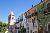 View of Alberona. Puglia. Italy. — Stock Photo