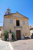 Kościół st. nicola. roseto valfortore. puglia. włochy. — Zdjęcie stockowe