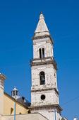 Carmine-kyrkan. cerignola. puglia. italien. — Stockfoto