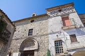 Church of St. Giuseppe. Alberona. Puglia. Italy. — Stock Photo