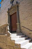 Mother Church. Roseto Valfortore. Puglia. Italy. — Stock Photo