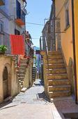 小巷。位置上升到 valfortore。普利亚大区。意大利. — 图库照片