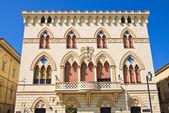 Manfredi Palace. Cerignola. Puglia. Italy. — Stock Photo