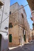 Chiesa del convento grande. putignano. puglia. italia. — Foto Stock