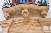 Historical palace. Putignano. Puglia. Italy. — Stock Photo